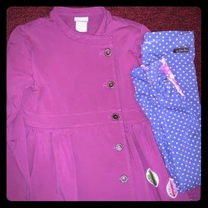 Matilda Jane Jacket and Leggings.  Size 12 N/S HTF